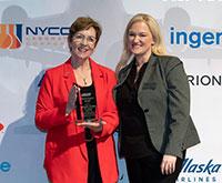 Chairman's Award presented to Melanie S. Jordan